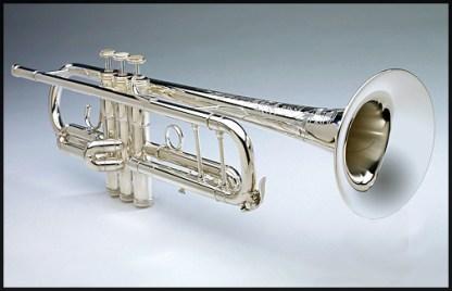 S.E. Shires B Flat Trumpet Model CLW