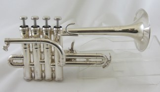 B&S Challenger II 3131/2 Piccolo Trumpet in Bb/A SN 026187