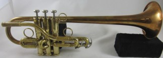 Bill Jones/Getzen Custom Eb Trumpet SN K113310