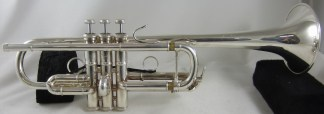 """Bach """"Philly"""" C Trumpet SN 630882"""