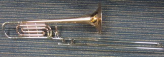 Olds Recording Trombone with F Attachment SN 256659