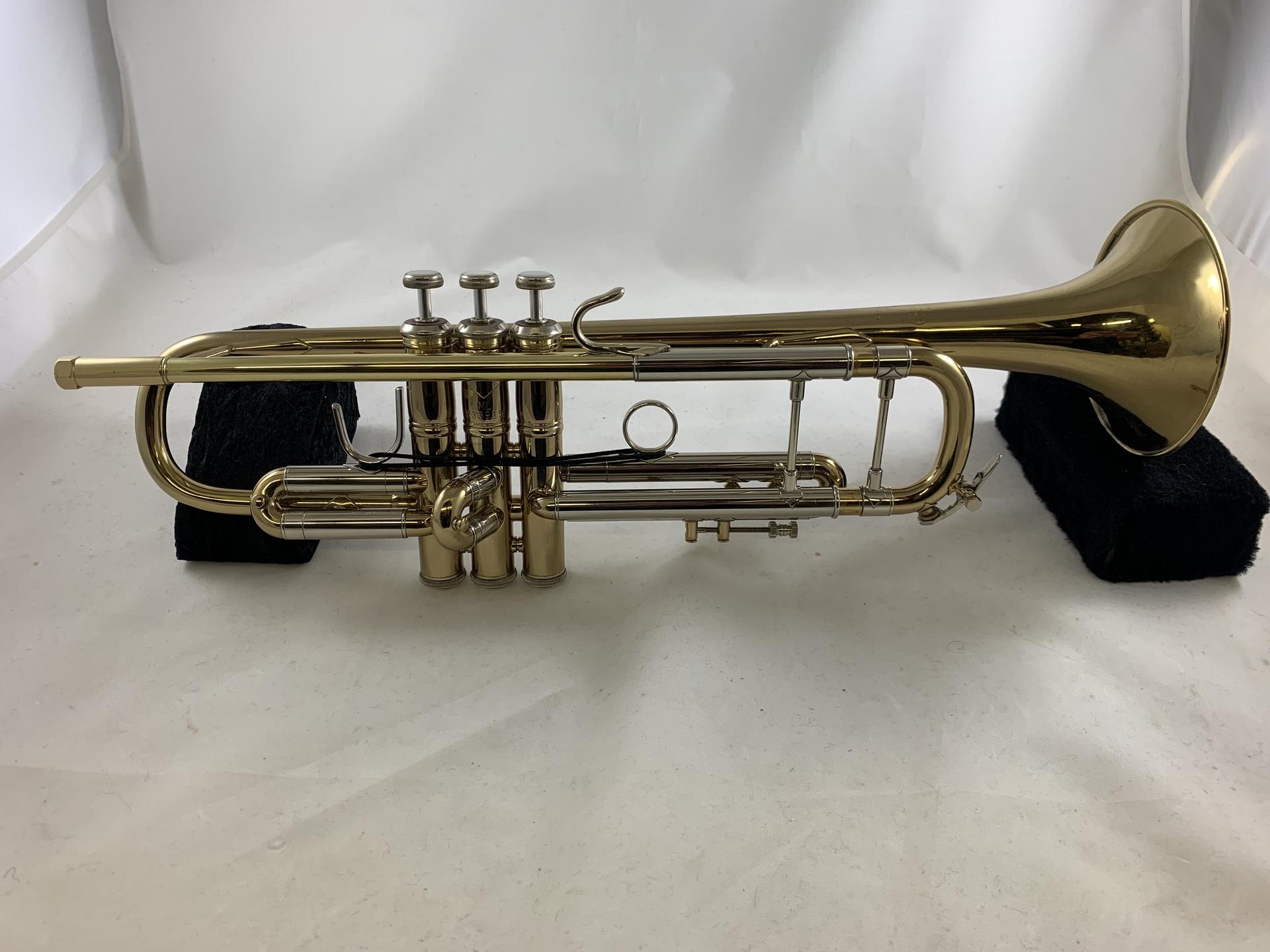 Bach Used LT180-37 Stradivarius Bb Trumpet SN 233915 - Thompson Music