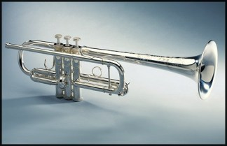 SE Shires Model 4S8 C Trumpet in Silver