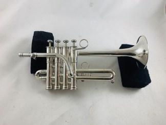 Used Getzen Custom Series Bb/A Piccolo Trumpet SN G42816