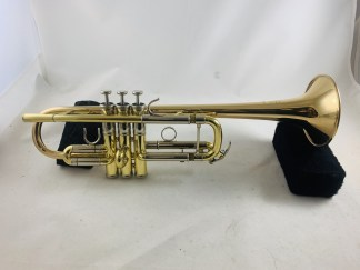 Used Yamaha Xeno 8445G C Trumpet SN 86496