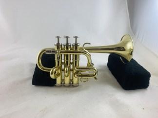 Used Getzen Capri Bb/A Piccolo Trumpet SN R11094
