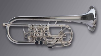 "Oberrauch Rotary Trumpet in C Model ""Uberetsch"" Heavy"
