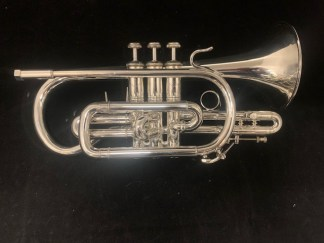 Used Bach Stradivarius 184ML Bb Cornet SN 444516