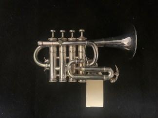 Used LA Benge 5 Piccolo Trumpet in Bb/A SN 27750