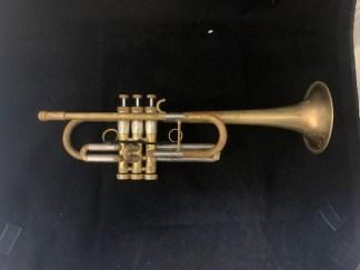Used Monette Prana STC-1 C Trumpet SN 1846