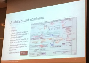 Kate's Whiteboard Roadmap slide