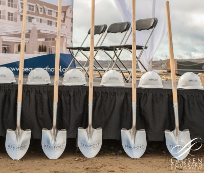 Beauport Hotel groundbreaking