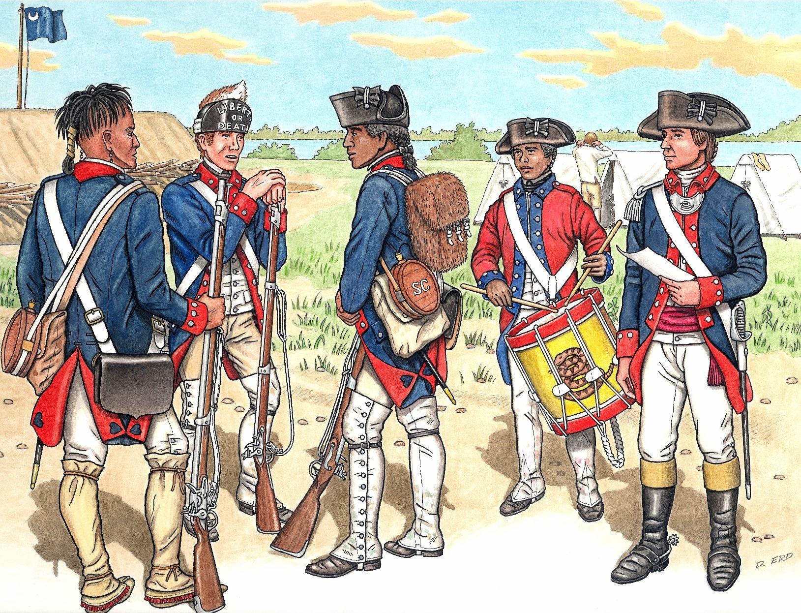 Virginia Militia American Revolutionary War Patriot