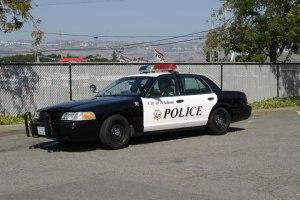 Petaluma Police Department patrol car