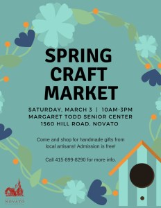 Novato Crafts fair