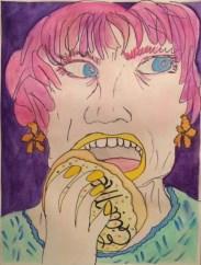 """Ladies Who Tea: Eat Me Pink"" by Nan Lehnert"