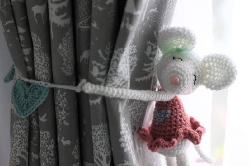 crochet ballerina mouse