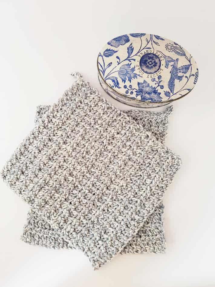 free textured crochet washcloth pattern