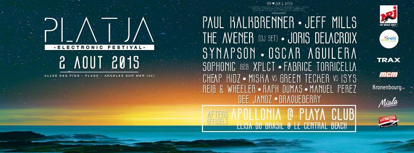 Incoming : Platja Electronic Festival @ Argelès-sur-Mer (France)