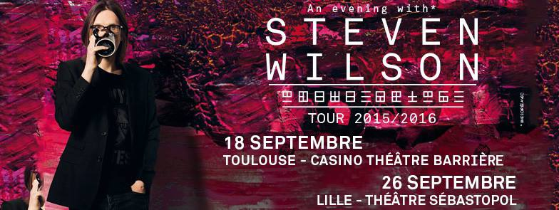 Incoming: Steven Wilson @ Casino Barrière (Toulouse)