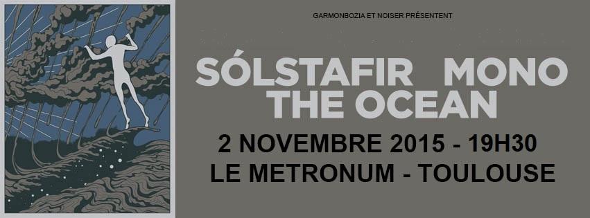 Incoming : Sólstafir @ Le Metronum (Toulouse)