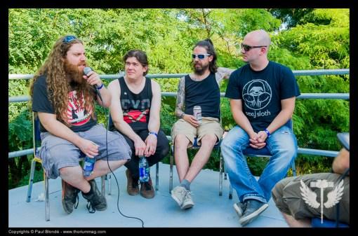 En Entrevue: Sandveiss @ Heavy Montréal 2015