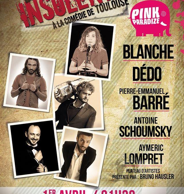 Incoming : Les Insolents @ La Comédie de Toulouse