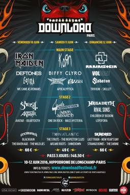 Download Festival Paris : J-30