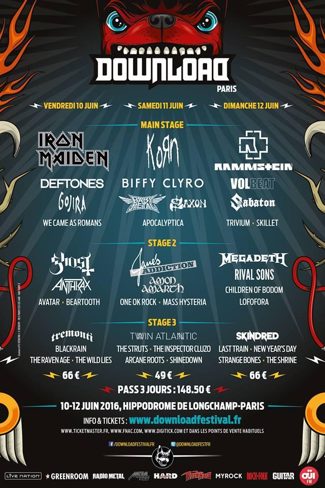 Download Festival Paris : J-30