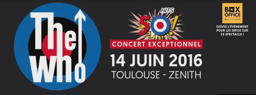 Incoming : The Who @ Le Zénith de Toulouse