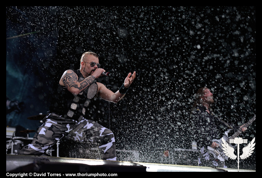 Rammstein + Megadeth + Trivium + Sabaton + … @ Download Festival France (Jour 3)