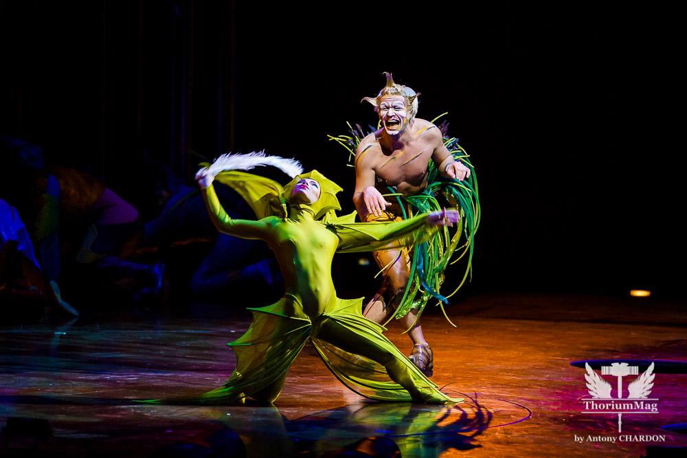 Varekai by Cirque du Soleil @ Zénith de Toulouse