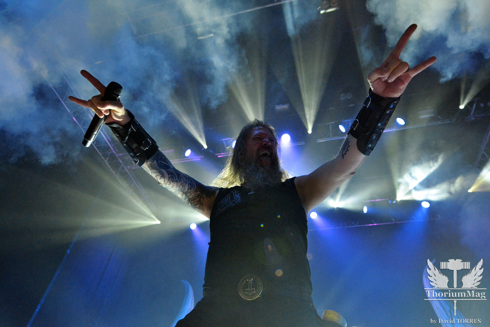 Amon Amarth + Dark Tranquility + Omnium Gatherum (Photos) @ Le Bikini (Toulouse)