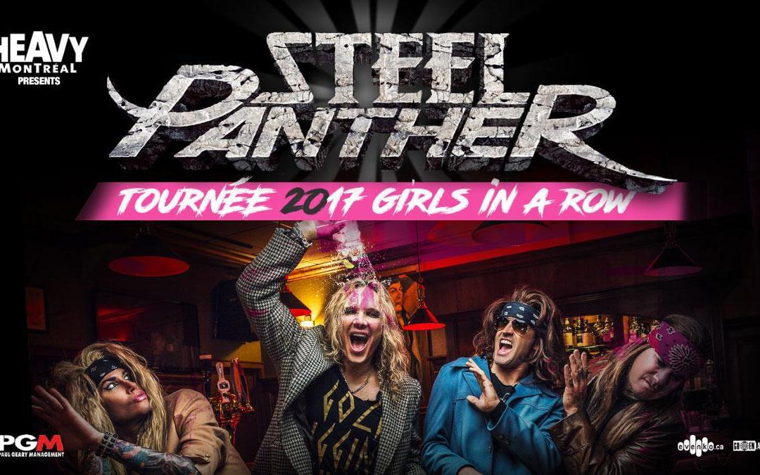 Concours Steel Panther @ Metropolis (Montréal)