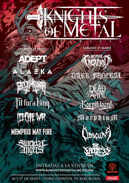 Knights Of Metal Barcelona Les dernières informations