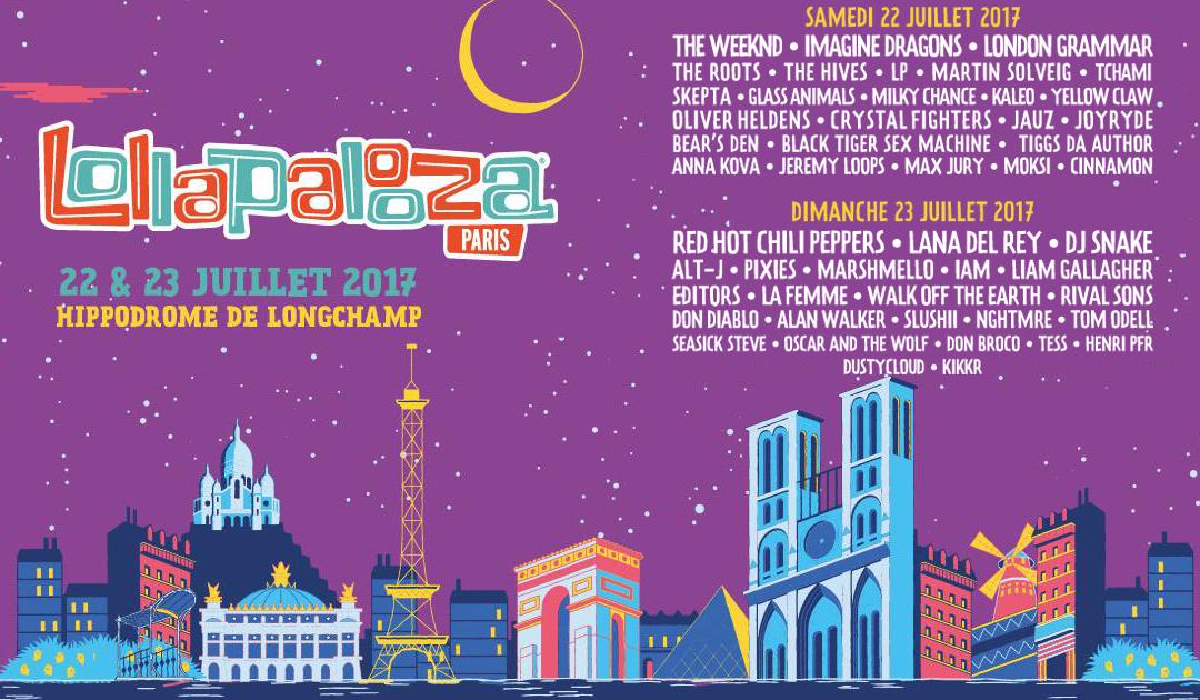 Lollapalooza Festival Paris : La première édition