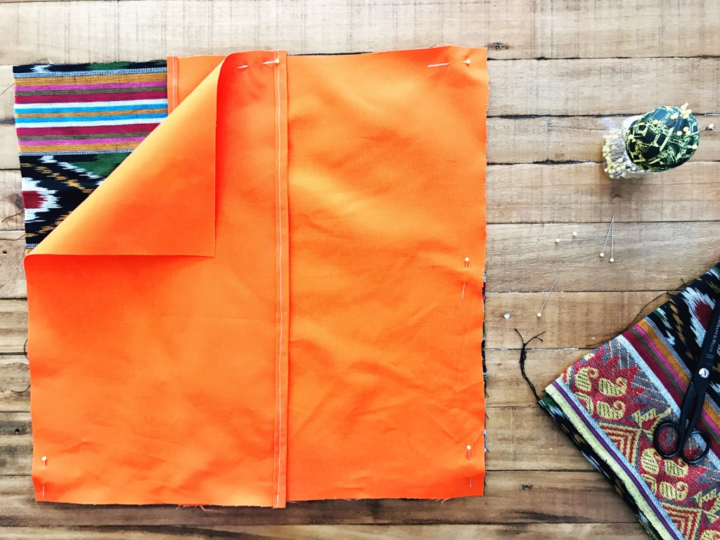 Envelope Style Pillow DIY