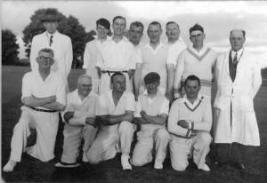 Staff cricket