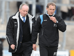 Currently at Cardiff, Lennie Lawrence (left) Paul Trollope (right) previously in roles at Rovers. (Credit: Wales Online)