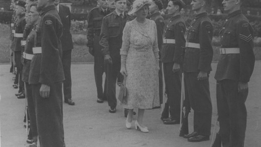 Princess Royal inspection 1951