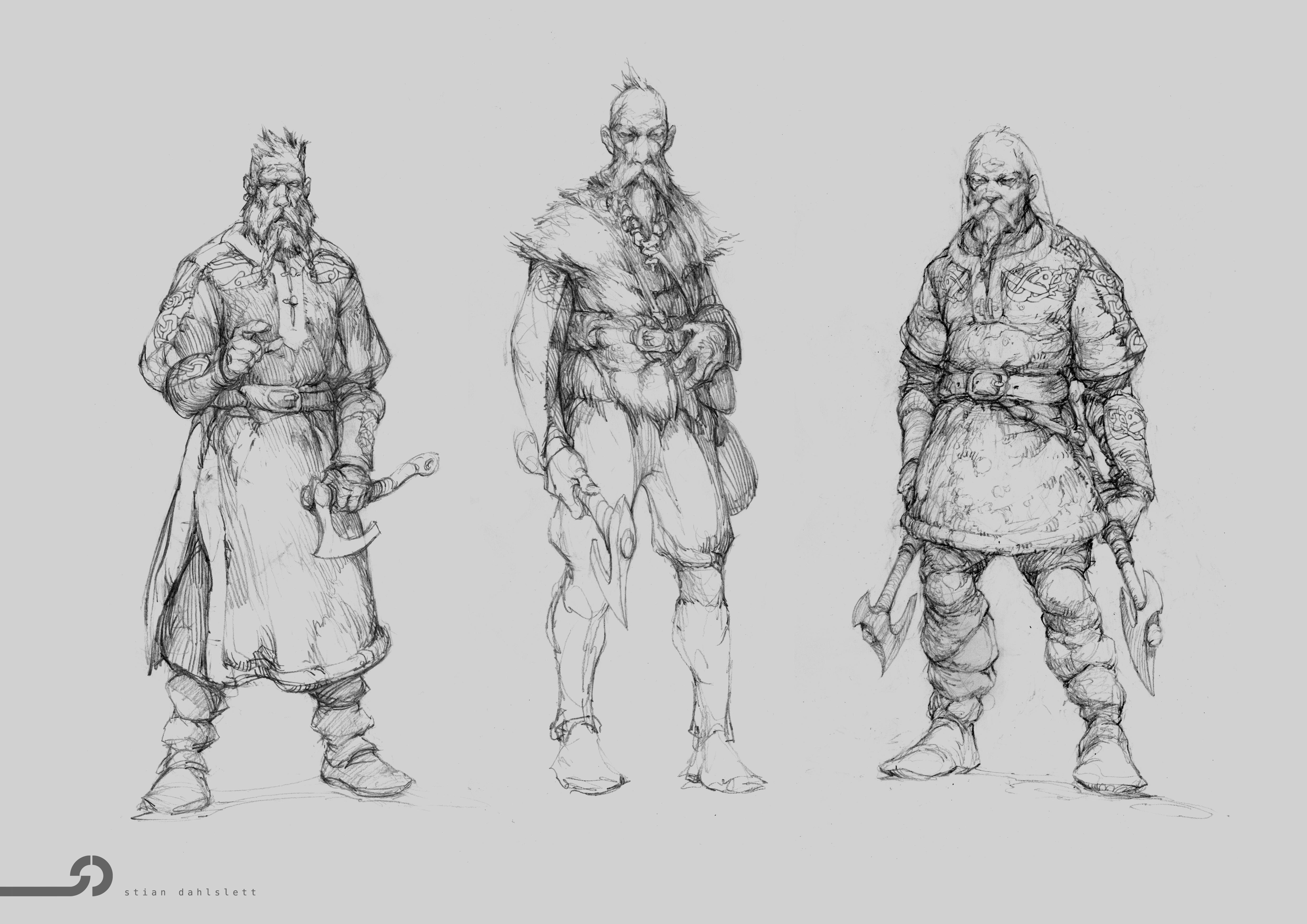 Norse Warriors Going Berserk Thornews