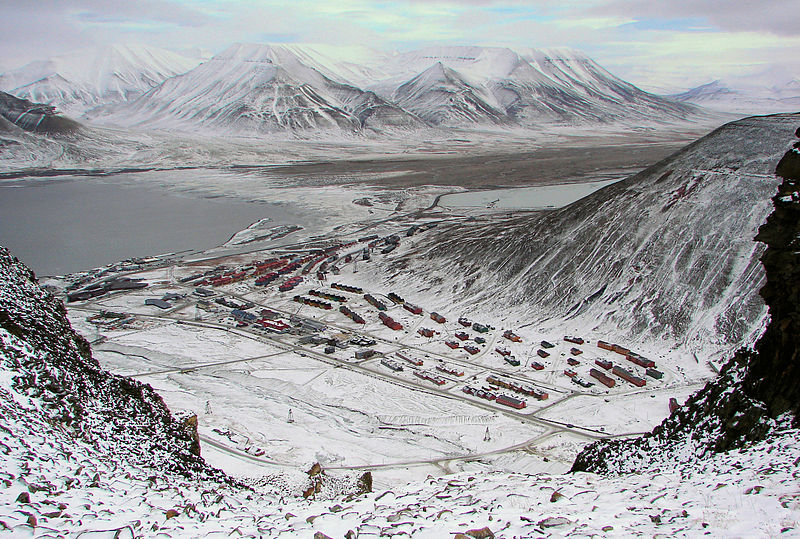 Longyarbyen - an incredible arctic place with polar envirnoment