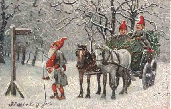 Old Norwegian Christmas Cards