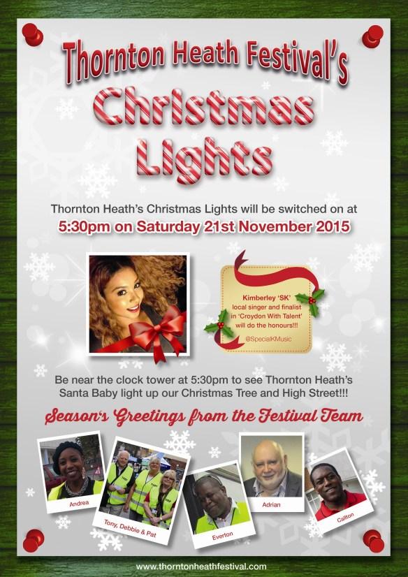 Thornton Heath Lights Flyer 2015 (PRINT)