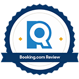 Booking.com review badge