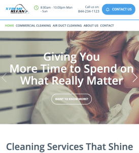 cleaning company marketing
