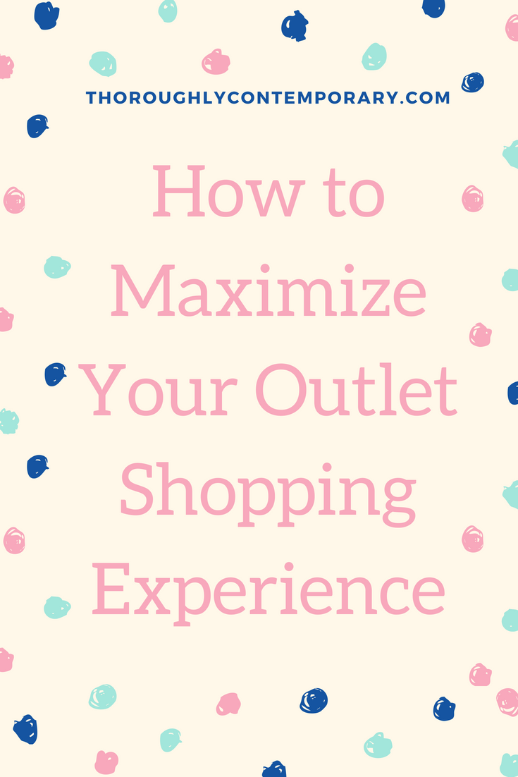 How to Maximize Your Outlet Shopping Experience-2