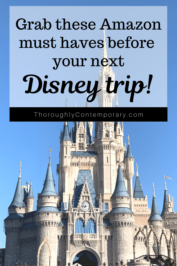 Amazon must haves for your disney trip