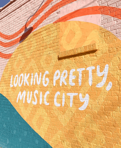 Nashville Music City Mural