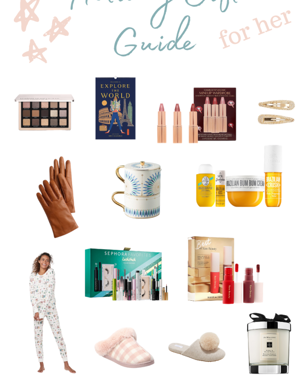 Little luxuries for her - gift guide